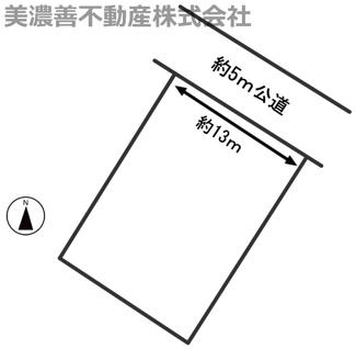 【外観】54949 岐阜市長森本町土地