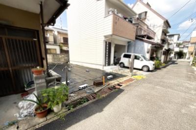 【外観】宇治市小倉町山際 注文建築 建築条件なし 土地