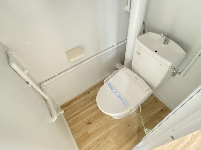ビレッジハウス法善寺3号棟 トイレ