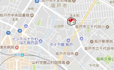 【地図】レオネクストNAGOMI(55420-103)