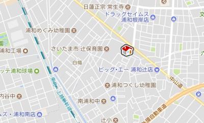 【地図】レオネクストブラザーズハイツ(52030-303)