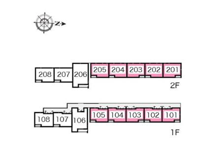 【区画図】OTANI Ⅲ