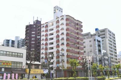 【外観】ハイネス天王寺