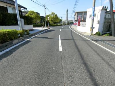 【前面道路含む現地写真】日吉津 売地