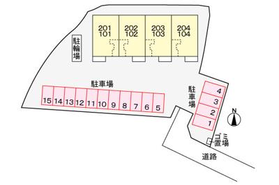 【駐車場】西有田新築アパート