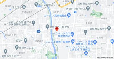 【地図】アネックス川端 (株)Roots