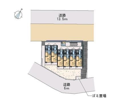 【区画図】シャルマンⅡ