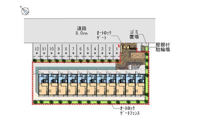 【区画図】サンセール丸山台Ⅱ