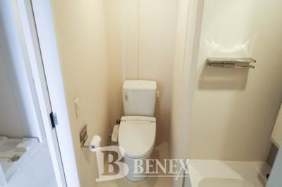 プライムメゾン市谷山伏町のトイレです