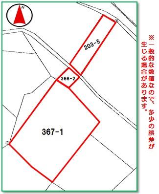【区画図】沖縄市比屋根6丁目(249.56坪)