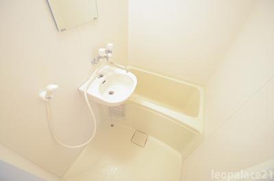 【浴室】レオパレス常盤Ⅱ