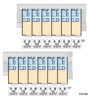 【区画図】レオパレス常盤Ⅱ