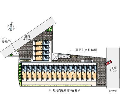 【地図】レオパレス江口橋