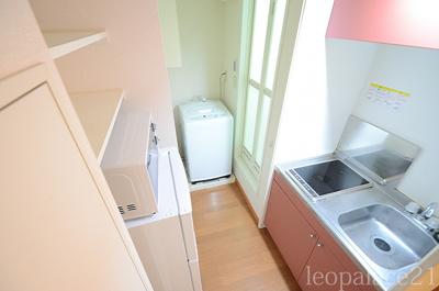 【キッチン】レオパレスエクセル