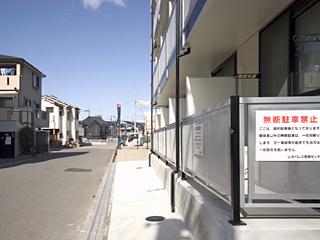 【バルコニー】レオパレス加島駅ダイレクトⅡ