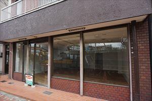 【外観】1階店舗 視認性良好 西の庄町 吹田駅