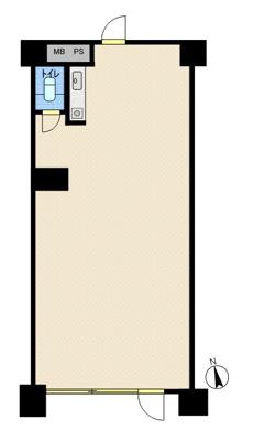 【外観】1階路面 業種相談可 青葉丘 宇野辺駅