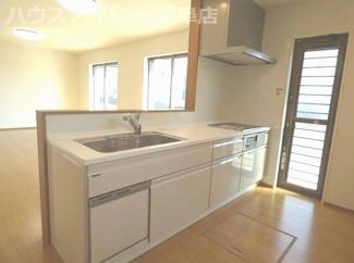 岐阜市下奈良3丁目 新築戸建て4LDK:お料理しやすいキッチンです
