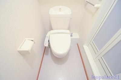 【トイレ】レオパレスプリフェール
