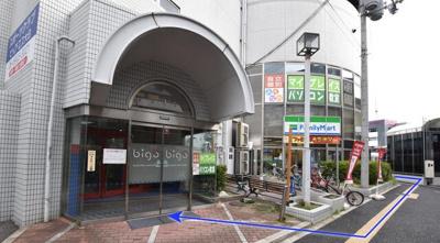 【外観】駅近 居抜 大日町 大日駅