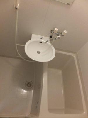 【浴室】レオパレス都B