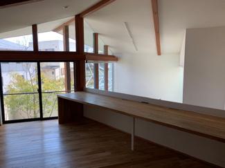 岐阜市大菅北 中古戸建 駐車スペース3台! 2階にはワーク部屋あります。在宅ワークにお子様の勉強スペースに、家族がいつでも一緒に過ごせる空間です♪