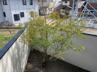 岐阜市大菅北 中古戸建 駐車スペース3台! 南側のお庭♪景色がきれいです。