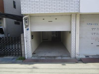 【外観】杭全8貸家