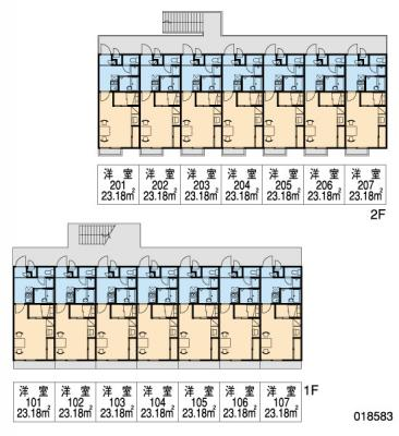 【区画図】レオパレスステラ