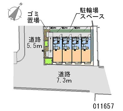 【地図】レオパレスYOSHIZAWAⅠ