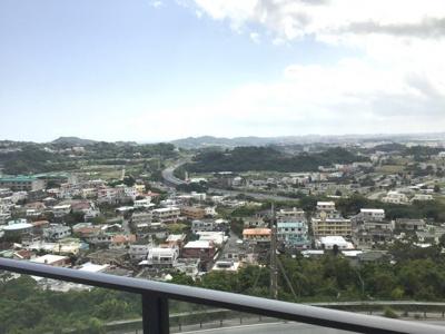 リビング側からの眺望