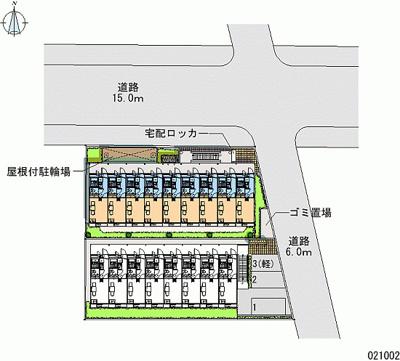 【地図】レオパレスネイバーズN