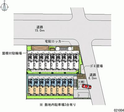 【地図】レオパレスネイバーズS