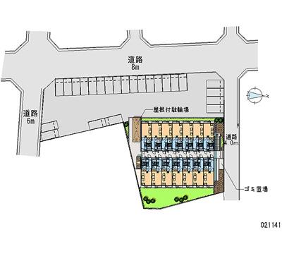 【地図】レオパレスツーリーフⅡ