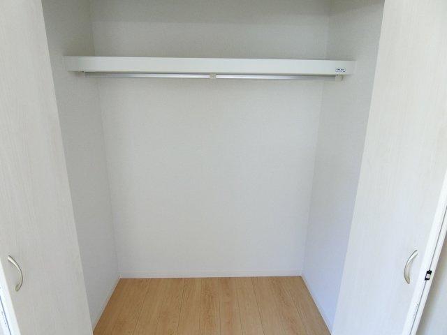 全居室に収納スペースあります。 (施工例)
