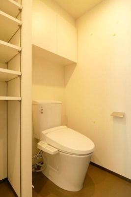 【トイレ】大切なペットと暮らせるお部屋1Kなら ジェノヴィア麻布十番グリーンヴェール