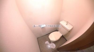 【トイレ】リバーサイド瓢箪山