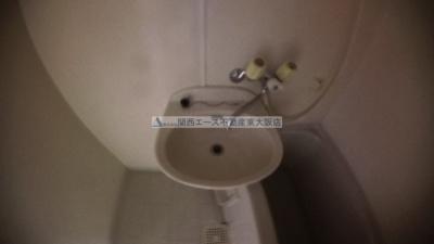 【洗面所】リバーサイド瓢箪山