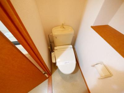 【トイレ】レオパレス佐保川