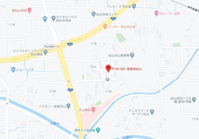 【地図】天山1丁目西川戸建て