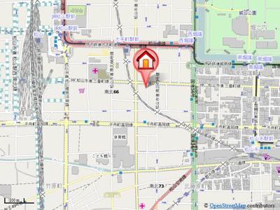 【地図】フォレスト三番町