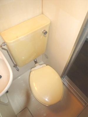 トイレもキレイに清掃済み