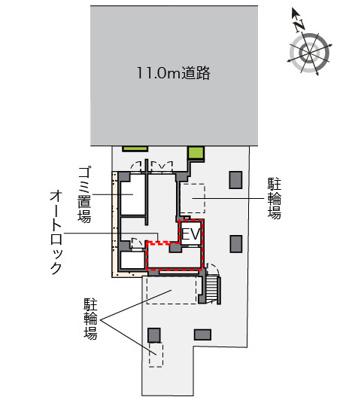 【区画図】LOVIE銀座東