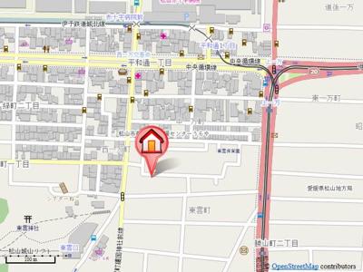 【地図】カローラ東雲