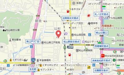 【地図】カローラハイツ