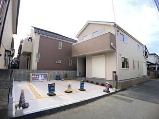 JR総武・中央緩行線「本八幡」駅バス9分東菅野4丁目停歩5分の全1棟の新築一戸建てです。京成本線「京成八幡」駅は徒歩23分です。
