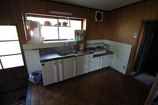 【キッチン】米原市野一色 中古戸建