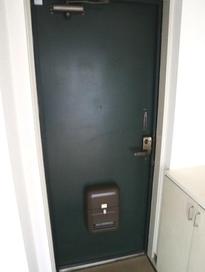 ゆったりした玄関です。