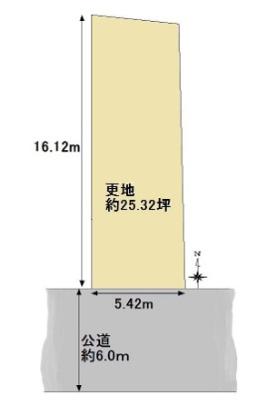 【区画図】浄土寺東田町 新築戸建(自由設計)