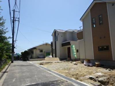 【前面道路含む現地写真】神戸市垂水区多聞台4丁目 1号棟 新築戸建
